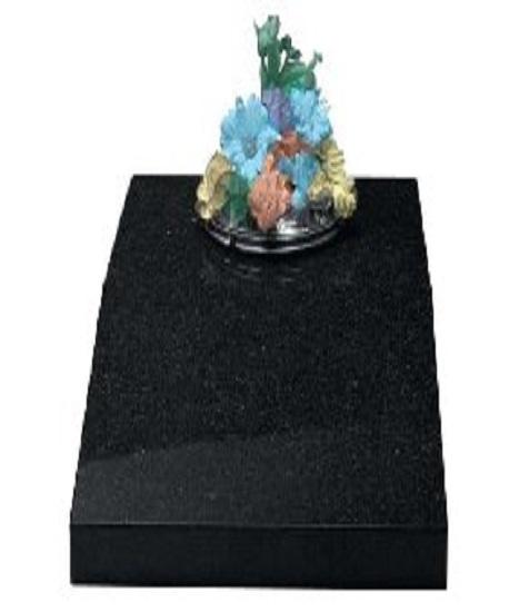 memorial splayed vase