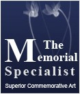 The Memorial Specialist Logo